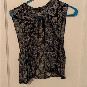 Bohemian vest, urban outfitters